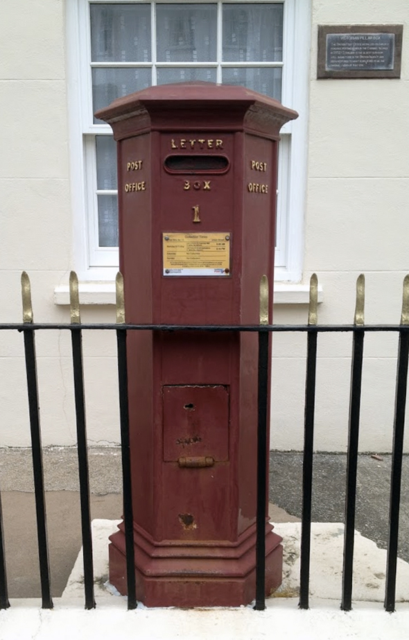 Guernsey's Number 1 Postbox