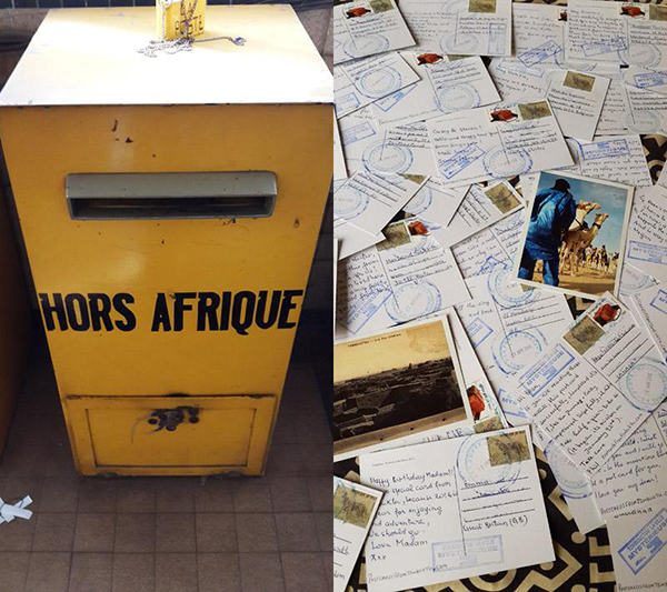 Postcards from Timbuktu