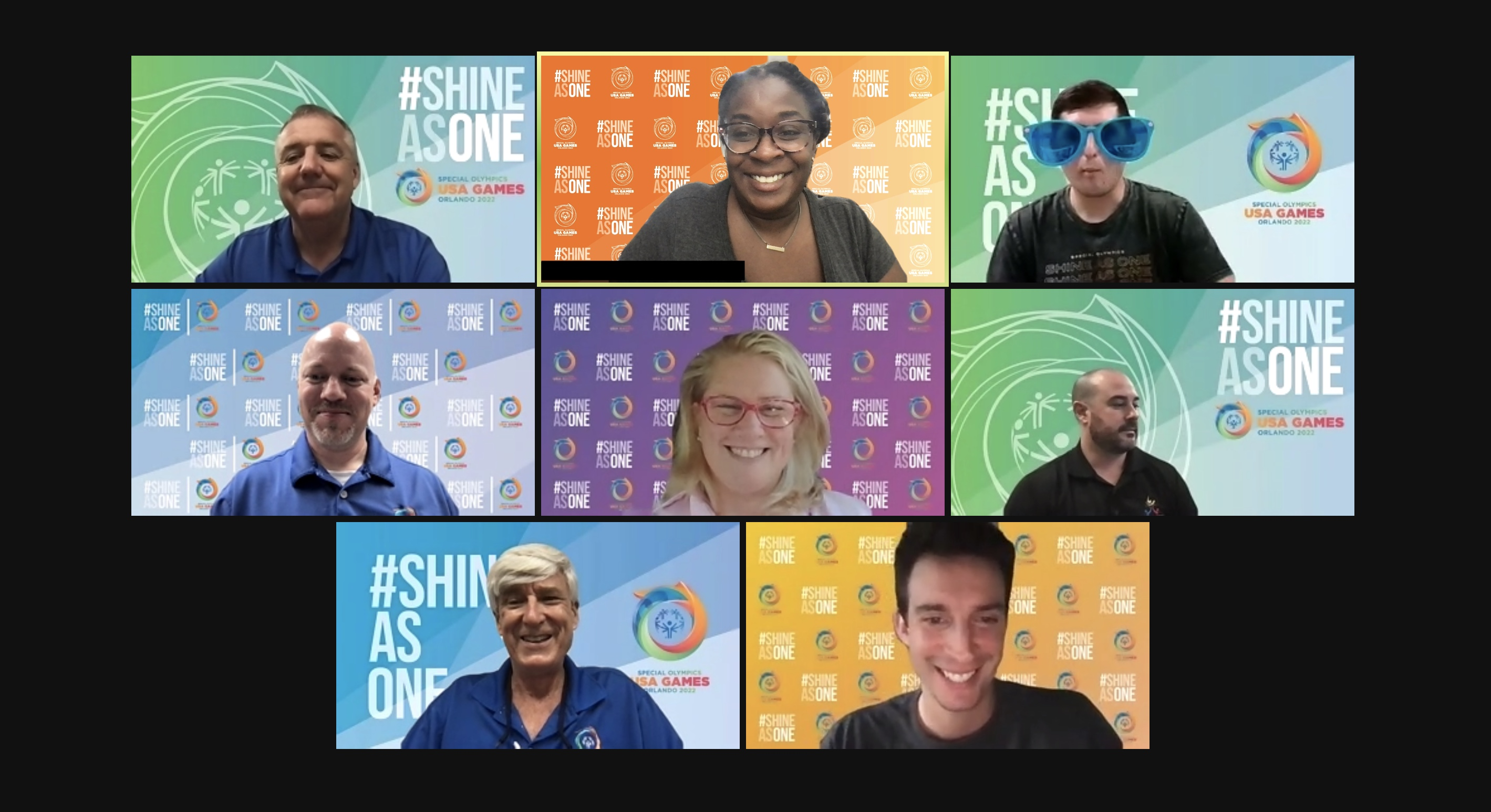 SHINE AS ONE - VIRTUAL MEETING BACKGROUNDS
