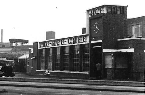 The Ace Cafe in 1969