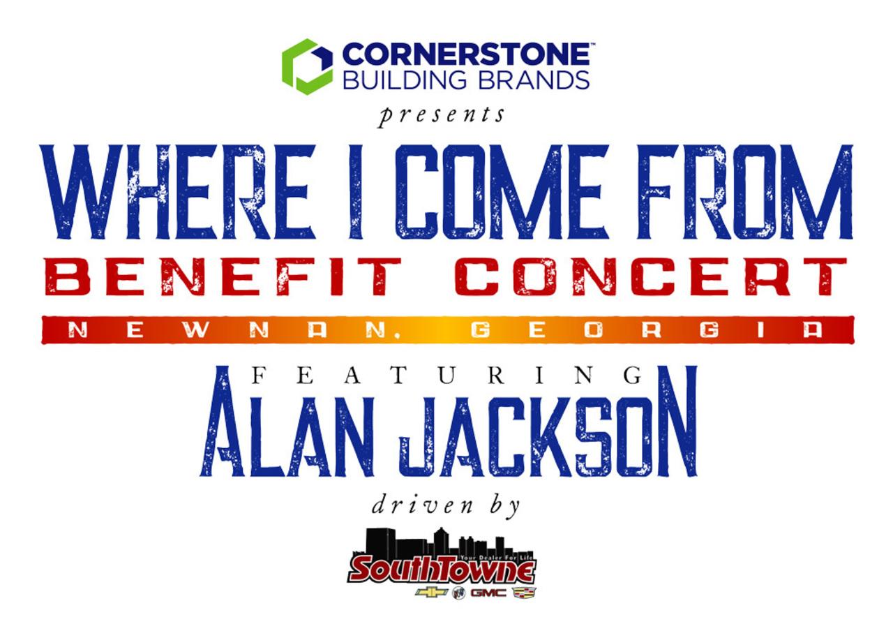 ALAN JACKSON BRINGS HOPE AND HELP TO HIS HOMETOWN