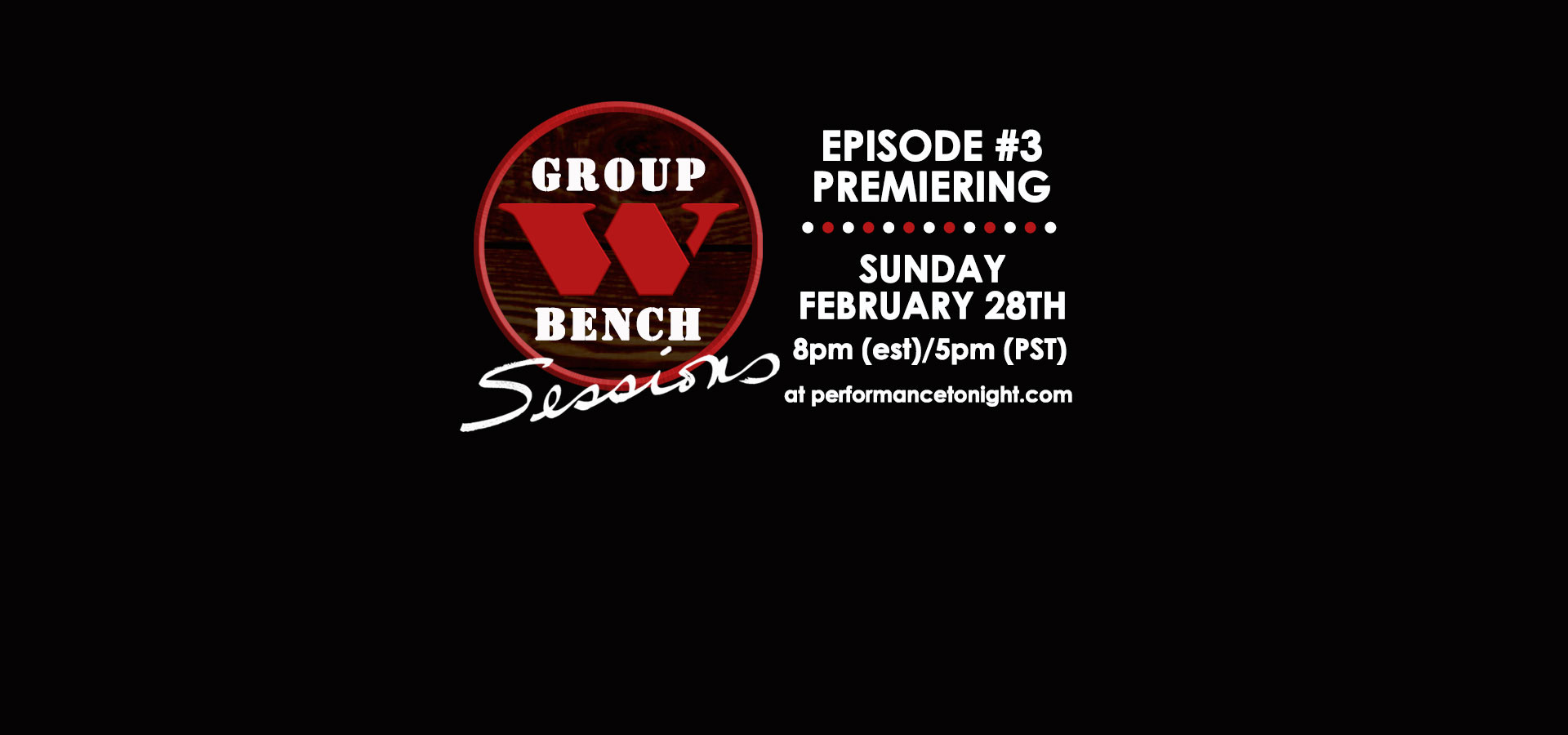 Arlo's Group W Sessions Episode #2 premieres January 3rd!