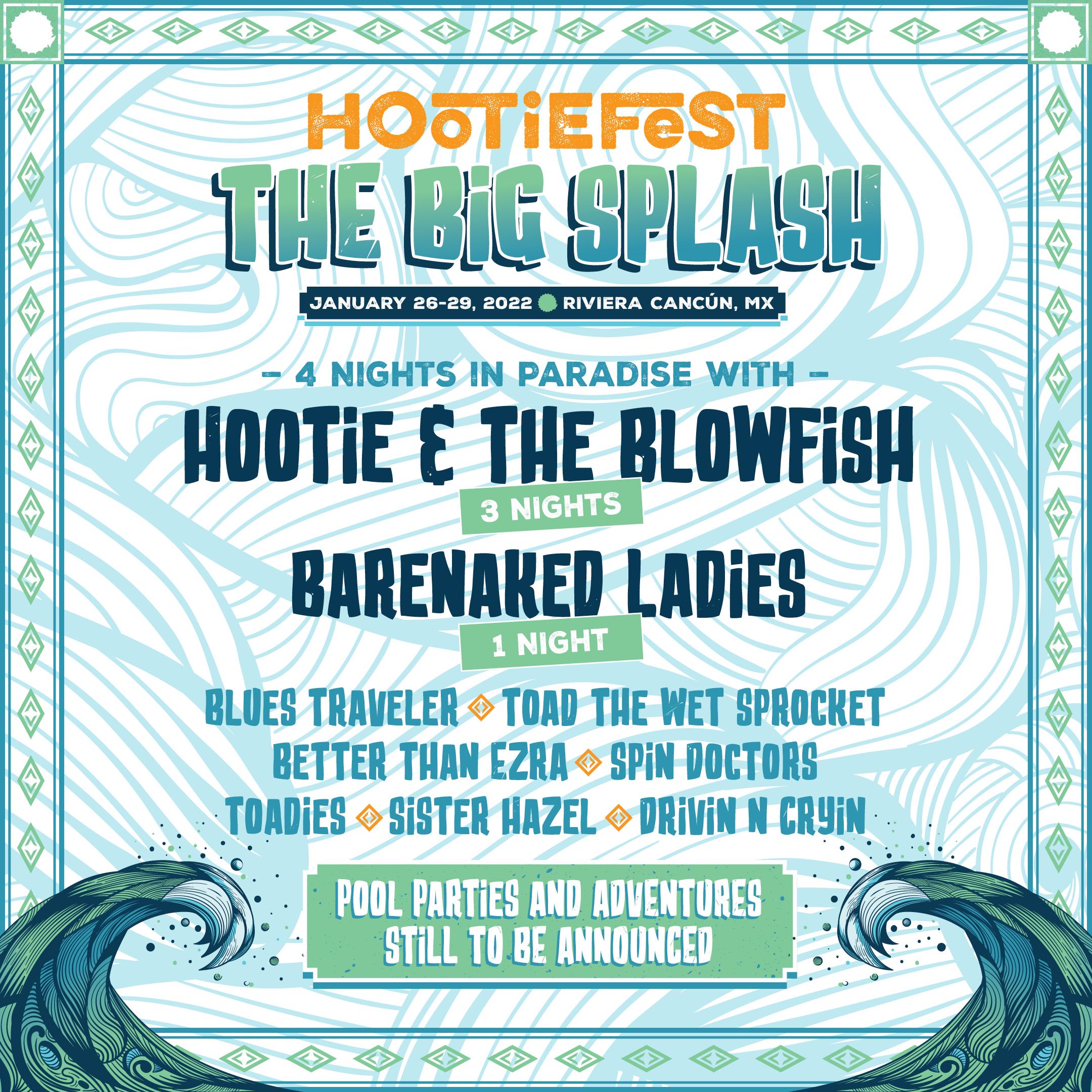 Announcing HootieFest: The Big Splash