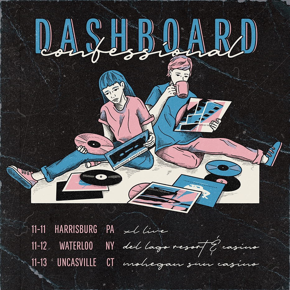Dashboard Confessional: 3 Shows Added!