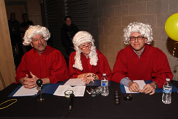 Dave Emery, Kim McCord, Bob Bystrowski