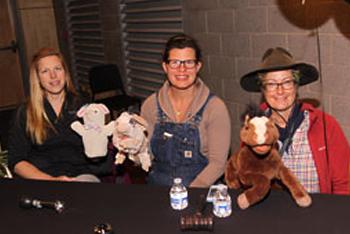 Erin Pirro (Sepe Farm), Kate Bogli (Maple View farm), Michelle Neidermeyer (Lost Acres Vineyard)