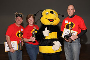 2012 Winners - The Incredi-Bees!
