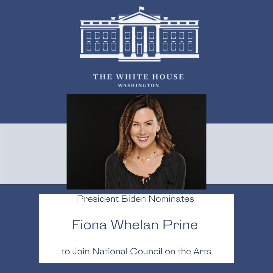 President Biden Nominates Fiona Whelan Prine