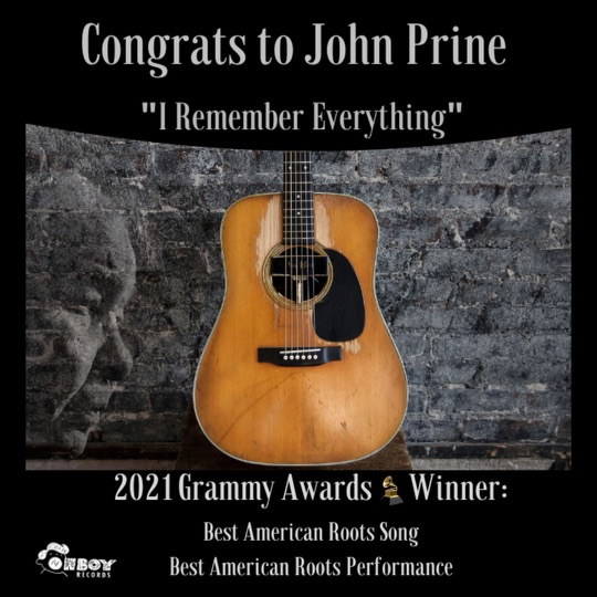 John Prine Wins Best American Roots Song and Performance at 2021 Grammys