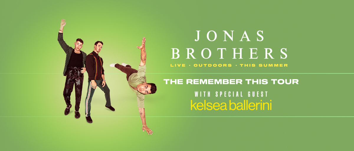 The Jonas Brothers with Kelsea Ballerini