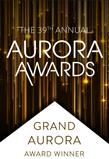 Aurora Awards. Golden Aurora. Award Winner