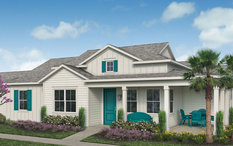 Conch Cottage Dreamsicle Model