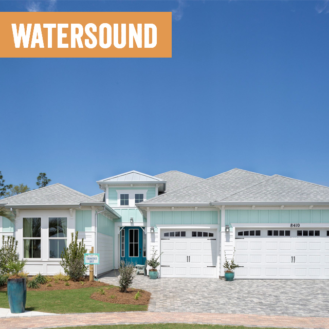 Image of a Watersound home exterior