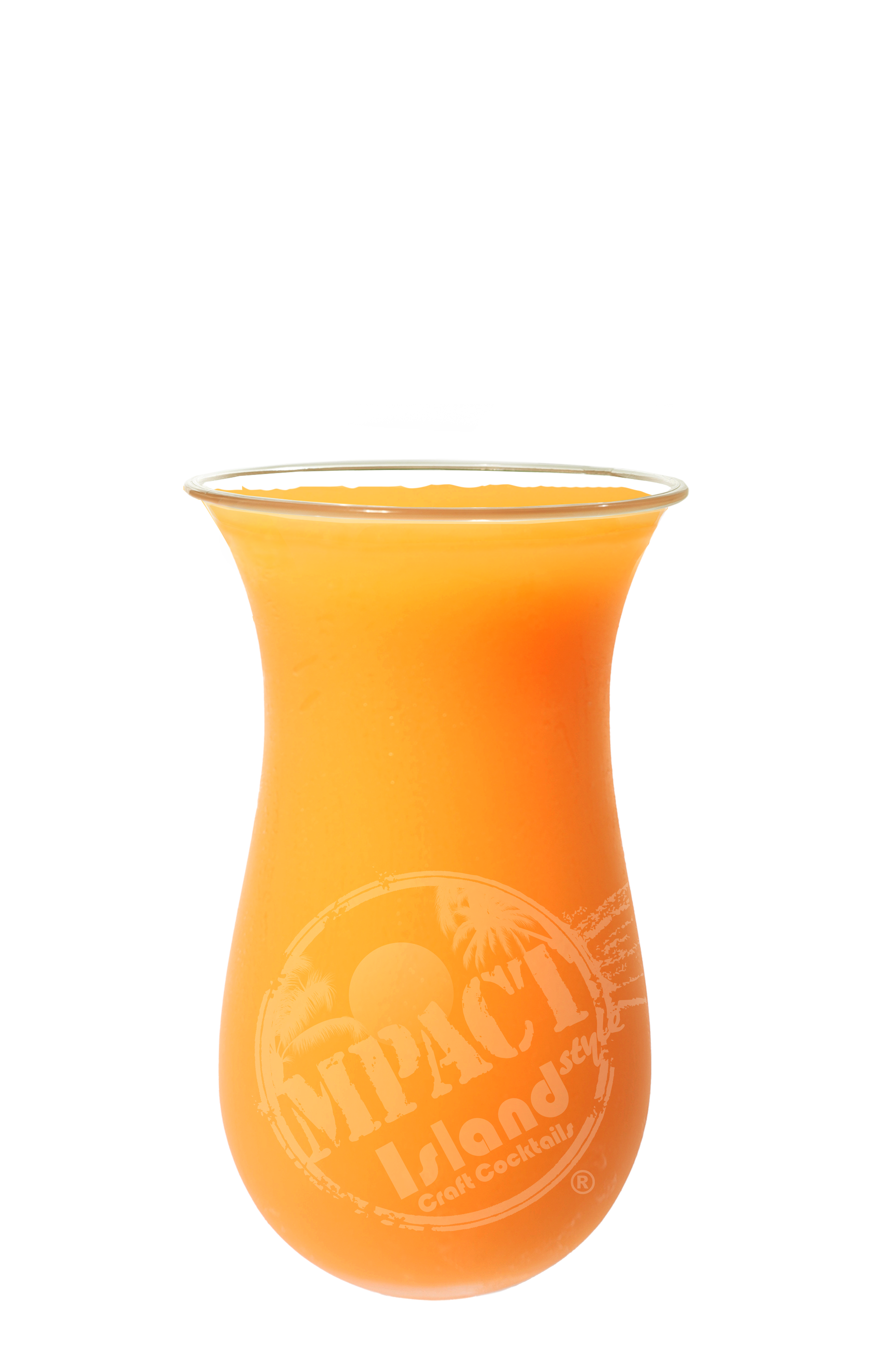 image of the sunset drink in bright orange