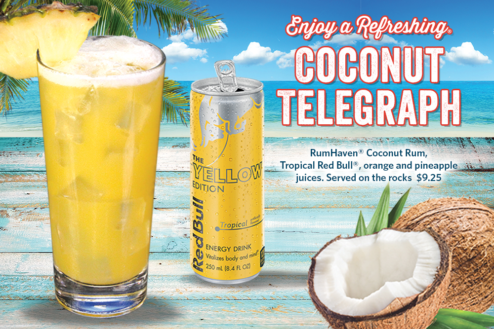 Enjoy a Refreshing Coconut Telegraph