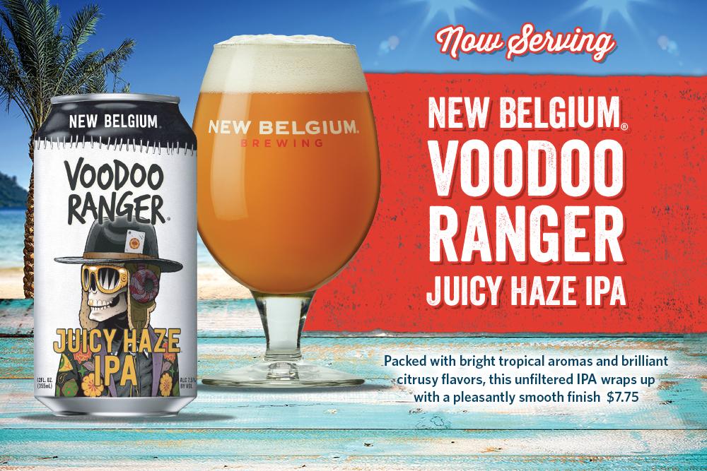 New Belgium, Voodoo Ranger Juicy Haze IPA