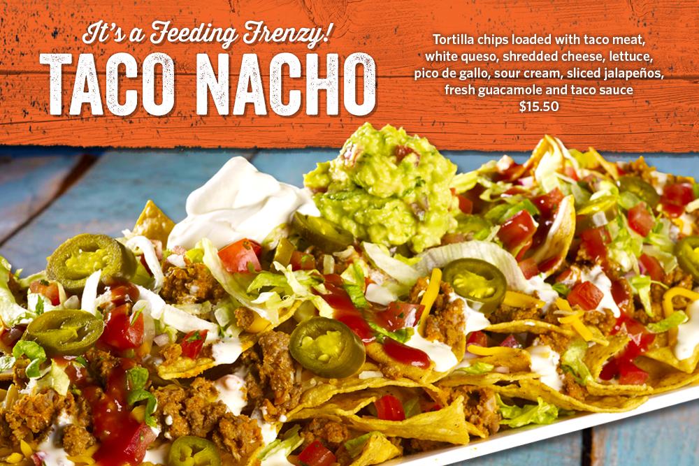 Enjoy our Taco Nachos!