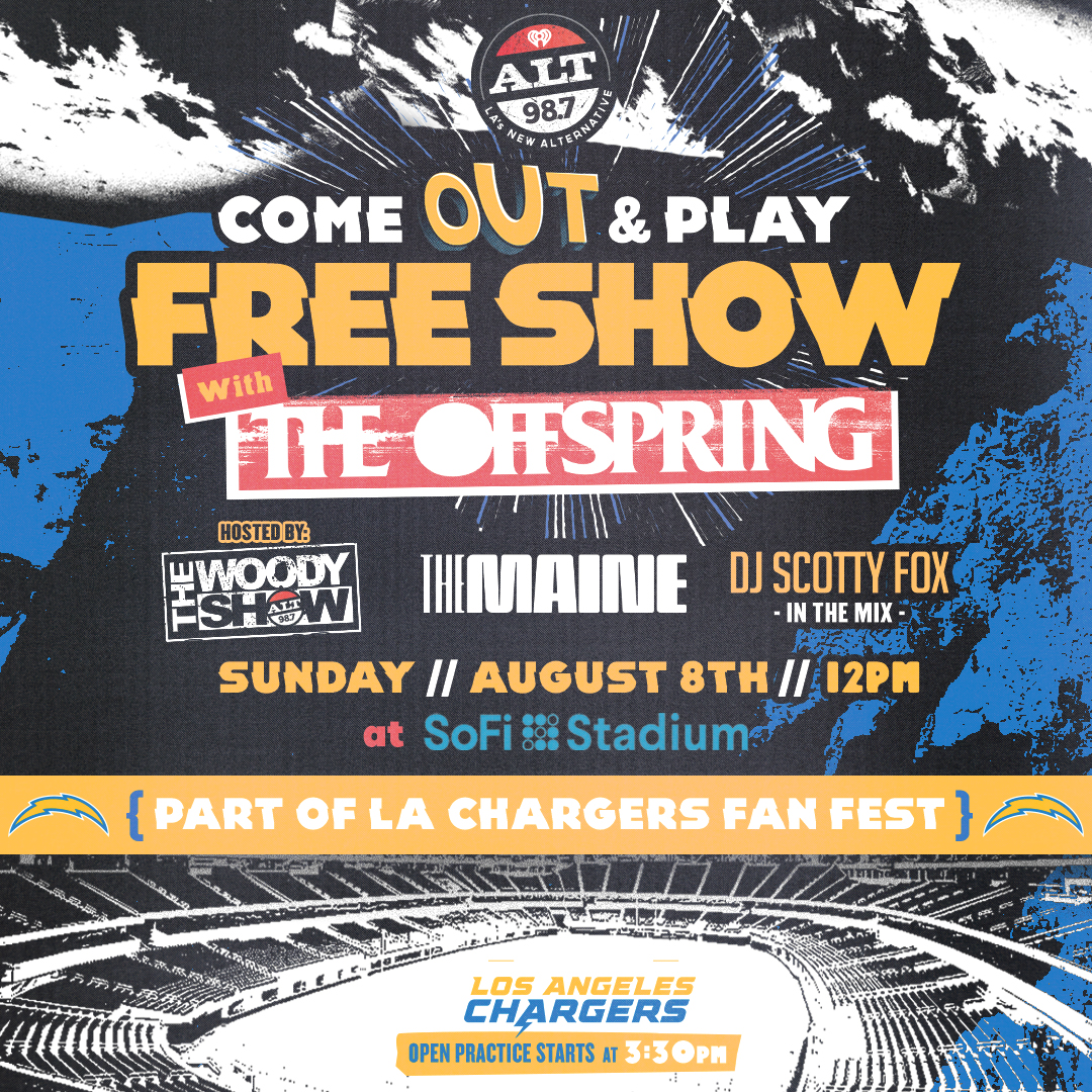 """ALT 98.7'S """"COME OUT AND PLAY"""" (FREE SHOW)"""