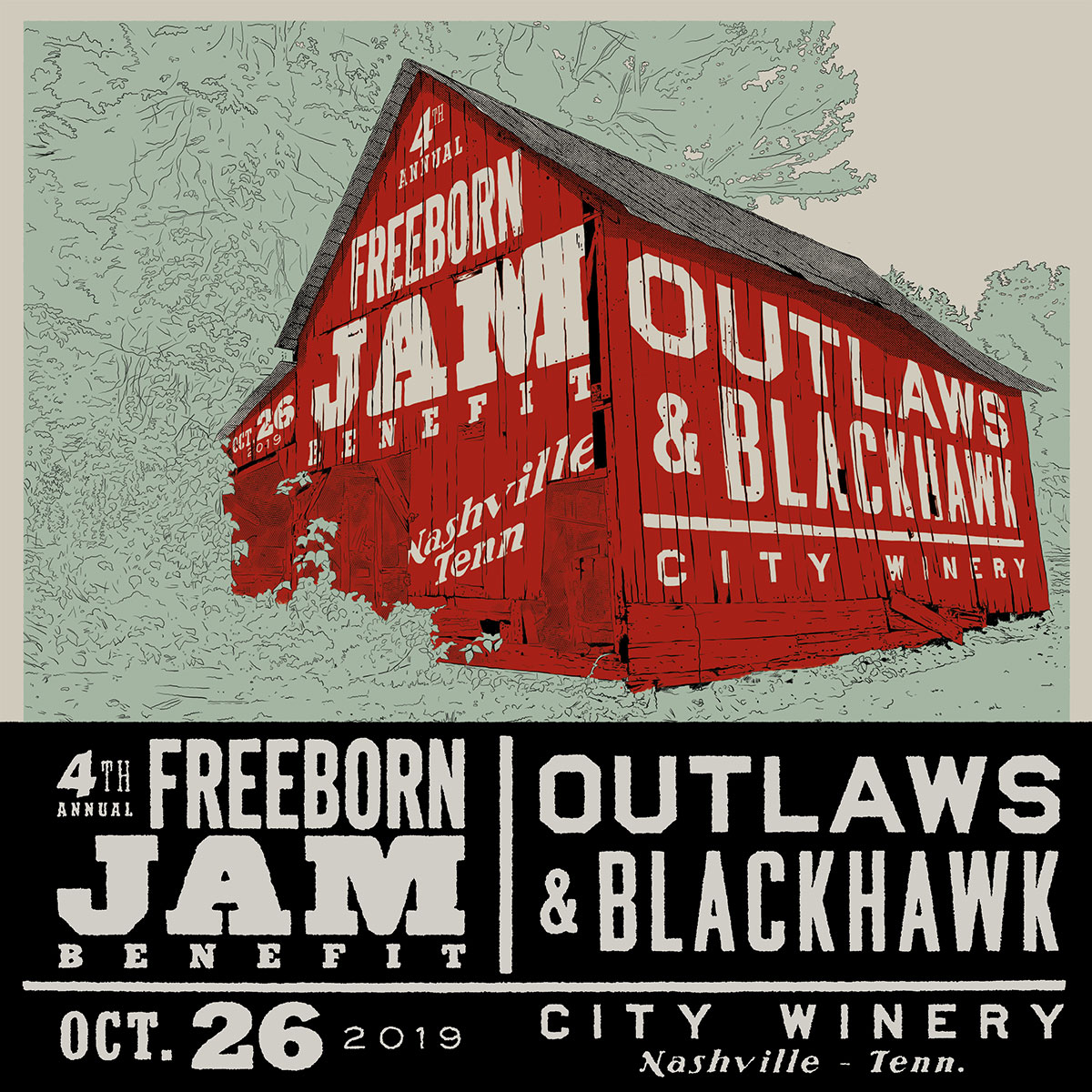 ANNOUNCING THE 4TH ANNUAL FREEBORN JAM!
