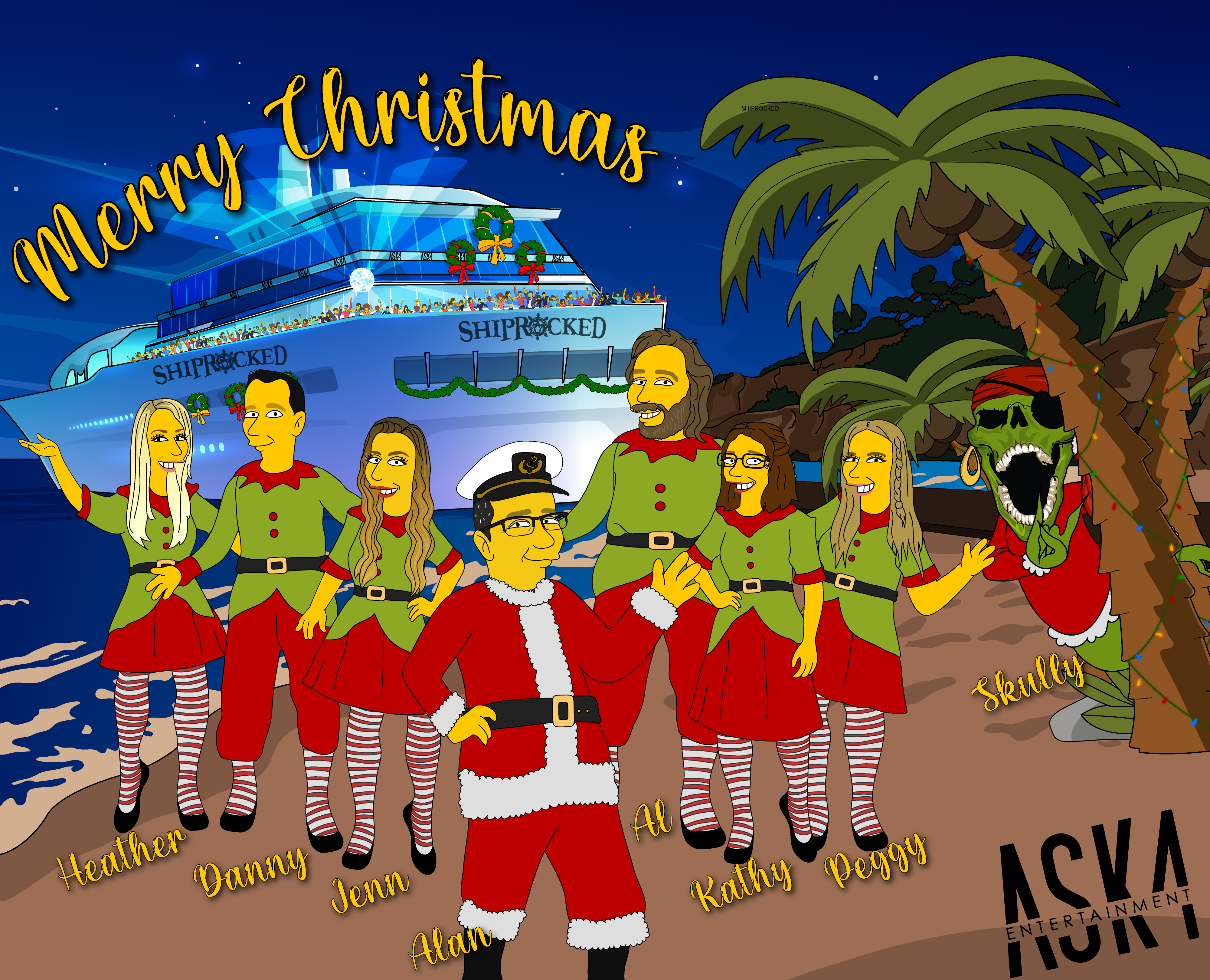 Happy Holidays from ASK4 & ShipRocked!