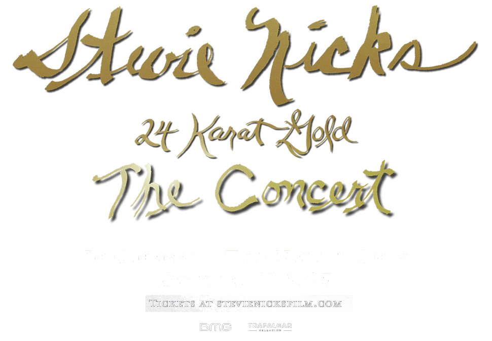 Stevie Nicks - 24 Karat Gold The Concert - In Cinemas Two Nights Only Oct 21 & 25 - Tickets at StevieNicksFilm.com
