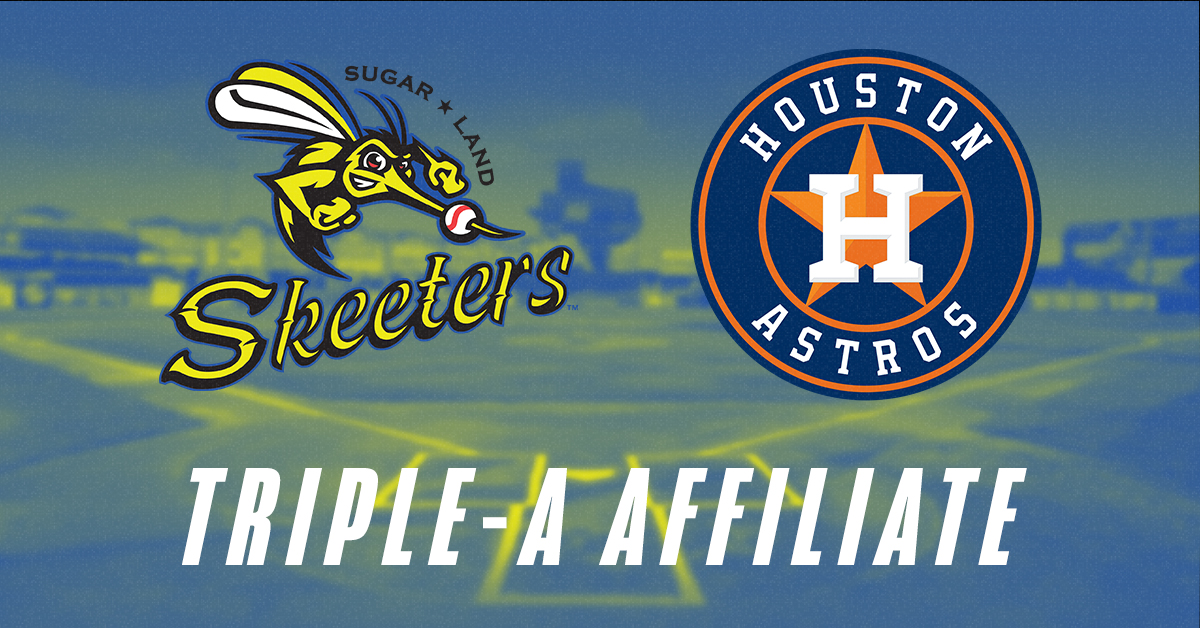 Skeeters Officially Sign Player Development License With Houston Astros