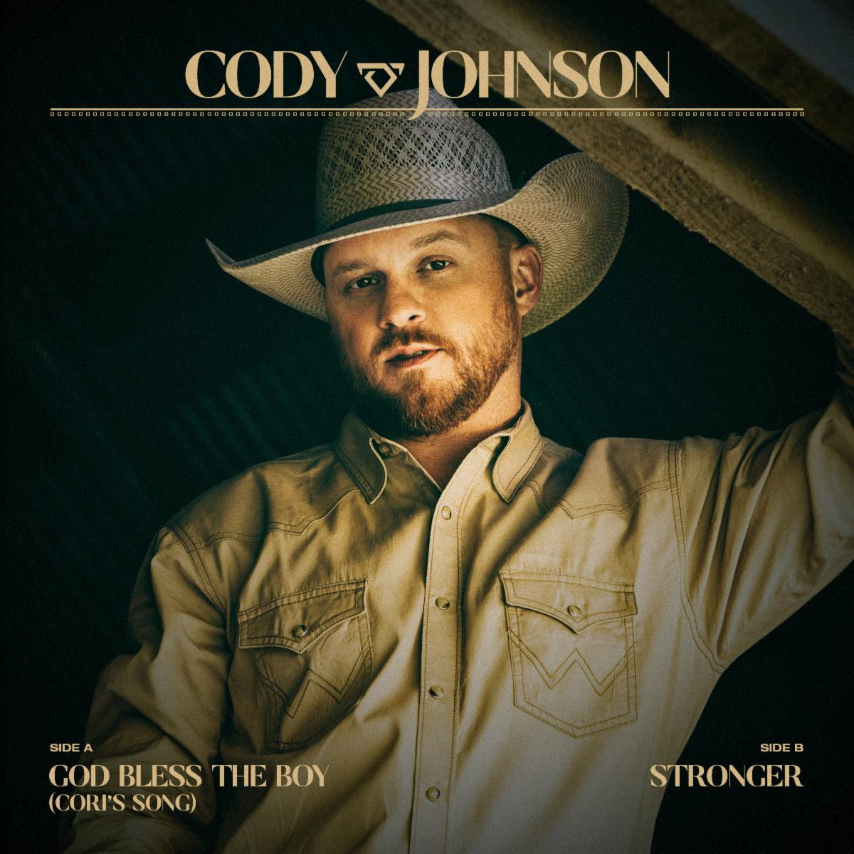 """CODY JOHNSON KICKS OFF JULY WITH DOUBLE SINGLE RELEASE:  """"GOD BLESS THE BOY (CORI'S SONG)"""" & """"STRONGER"""" OUT TODAY"""