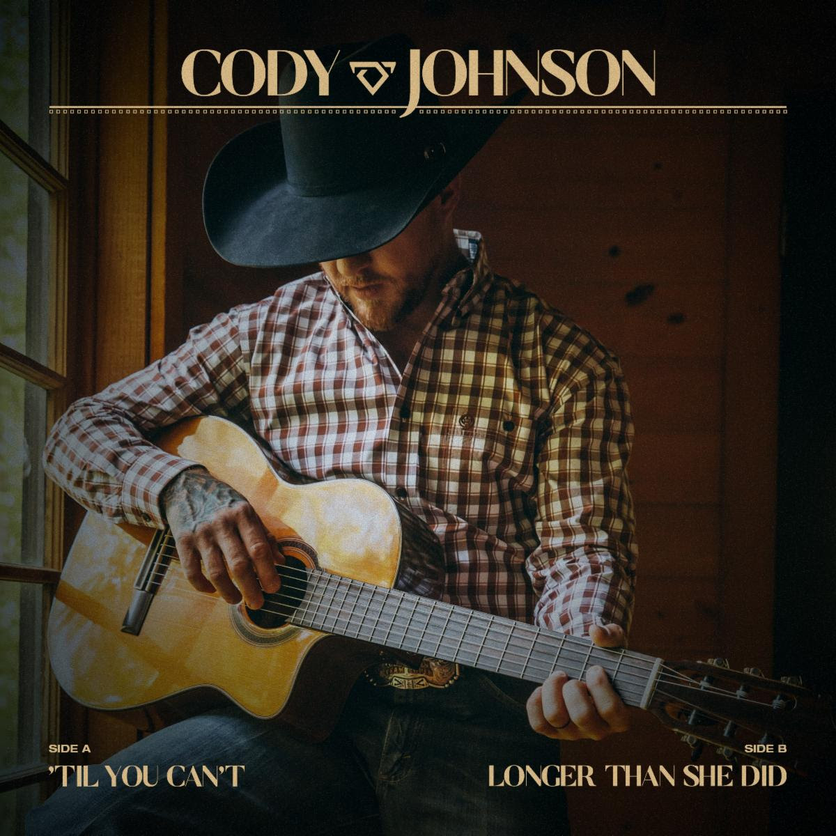 CODY JOHNSON RELEASES TWO BRAND NEW SONGS FROM HIGHLY ANTICIPATED DOUBLE ALBUM