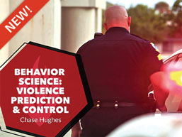 Behavior Science: Violence Prediction & Control