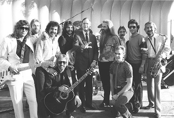 George H.W. Bush and The Oak Ridge Boys