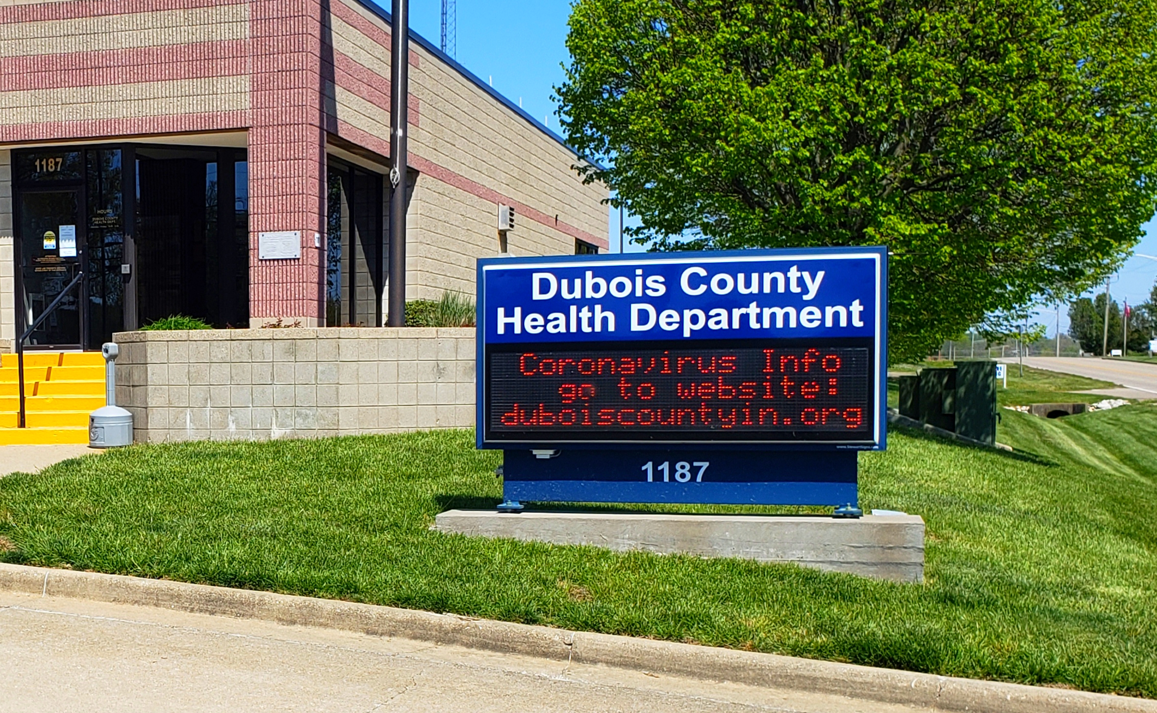 One New Death Reported Sunday in Dubois County; Positivity Rate Drops Well Below CODE RED Levels