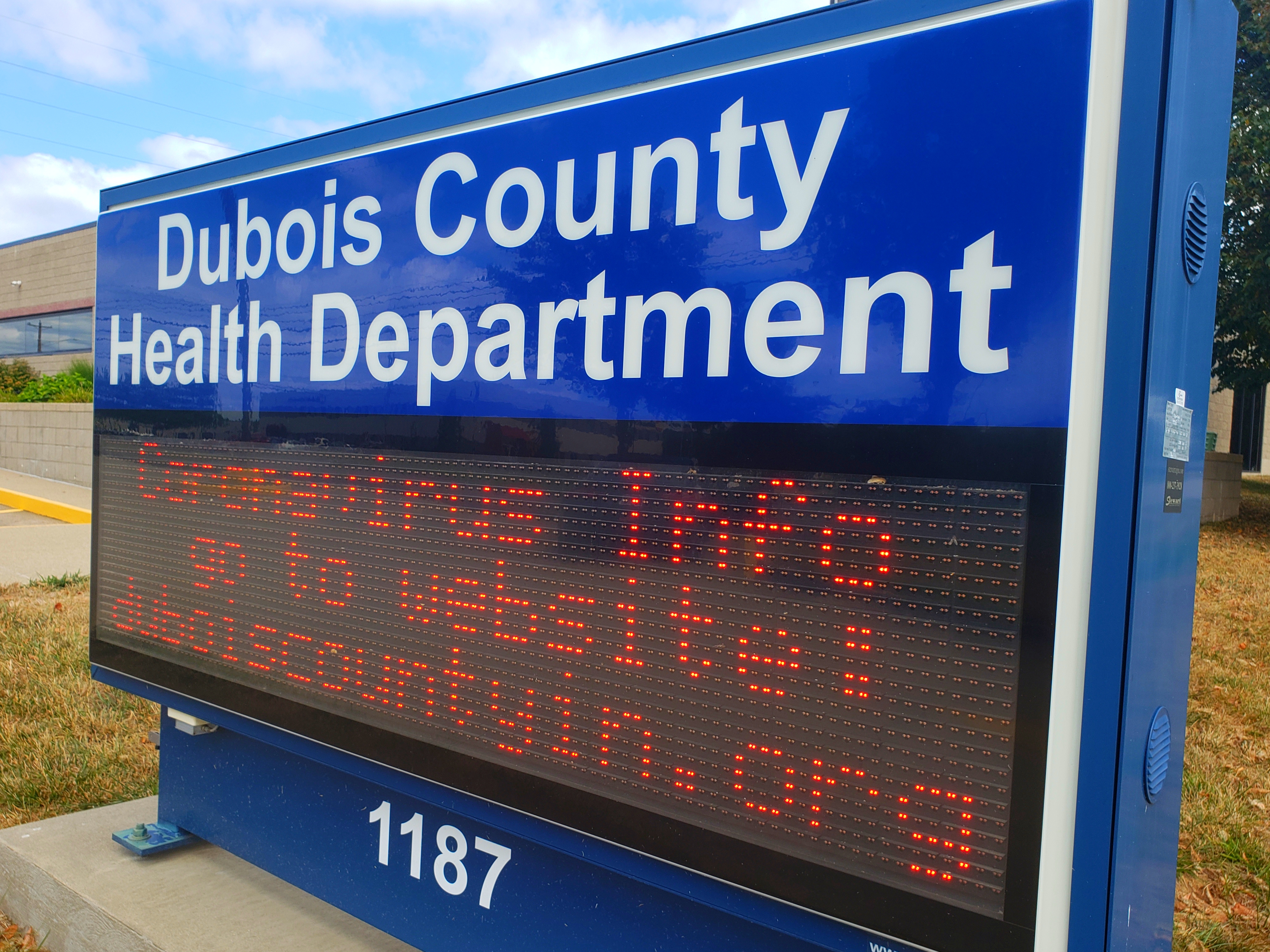 10 New Cases of COVID-19 Reported Thursday Afternoon in Dubois County