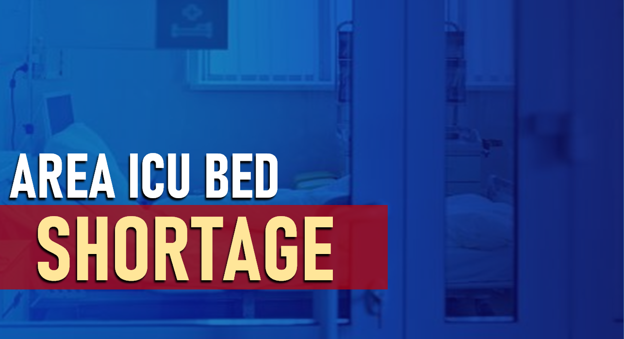 District 10's ICU Bed Shortage Appears to Be Improving, According to State Data