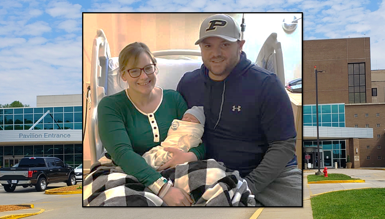 Jasper's Memorial Hospital Welcomes First Baby of 2021