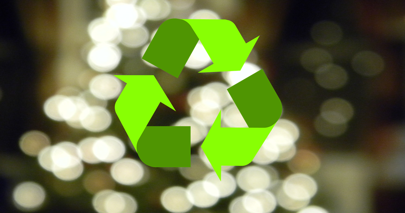 Due to High Demand, You Can Recycle Old Christmas Lights Through This Weekend