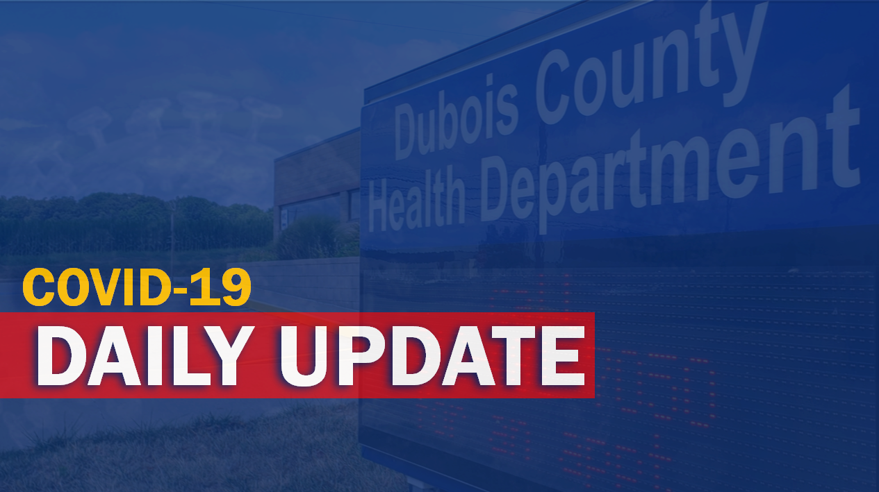 NEW YEAR'S EVE:  93 New COVID-19 Cases, One Death Reported in Dubois County