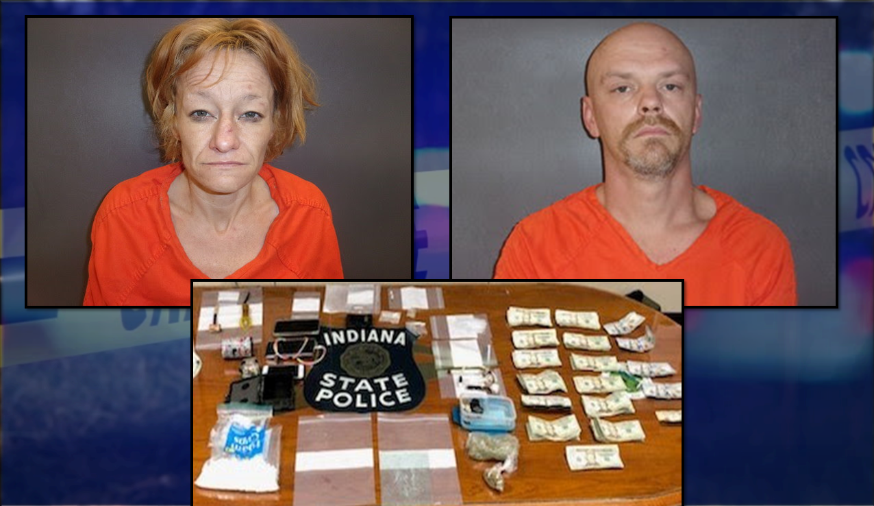 Two Arrested After Search Warrant Allegedly Turns Up Illegal Drugs
