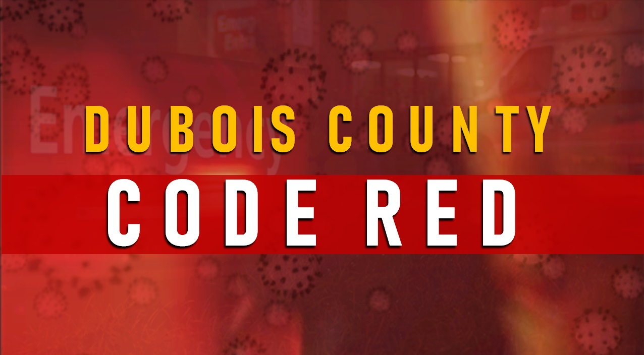 BREAKING:  52 New Cases of COVID-19 Reported in Dubois County, County is Staying at CODE RED