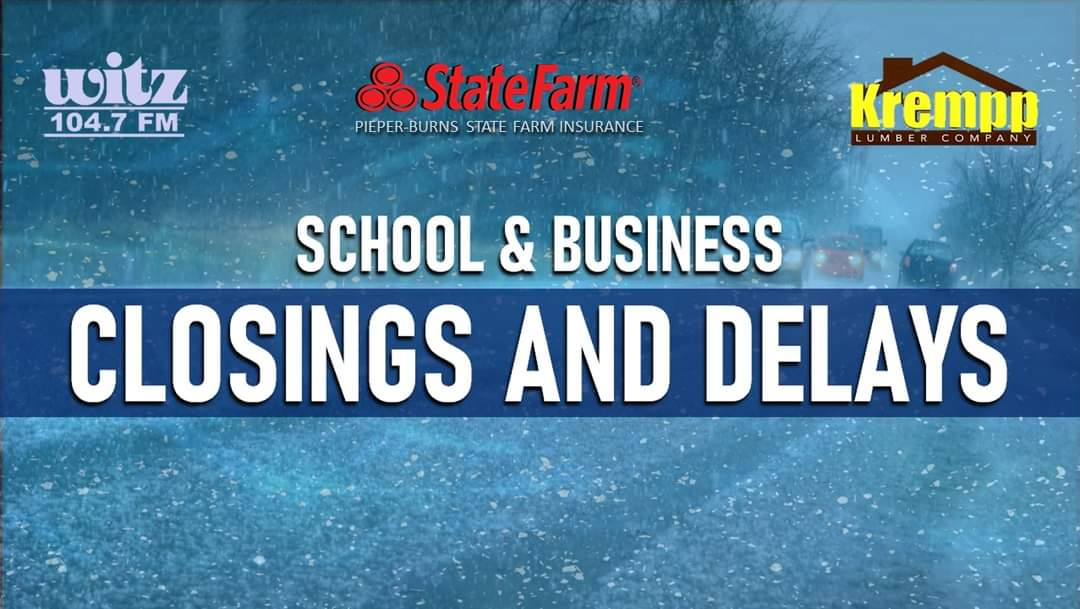 CLOSINGS AND DELAYS: FRIDAY, FEBRUARY 19, 2021