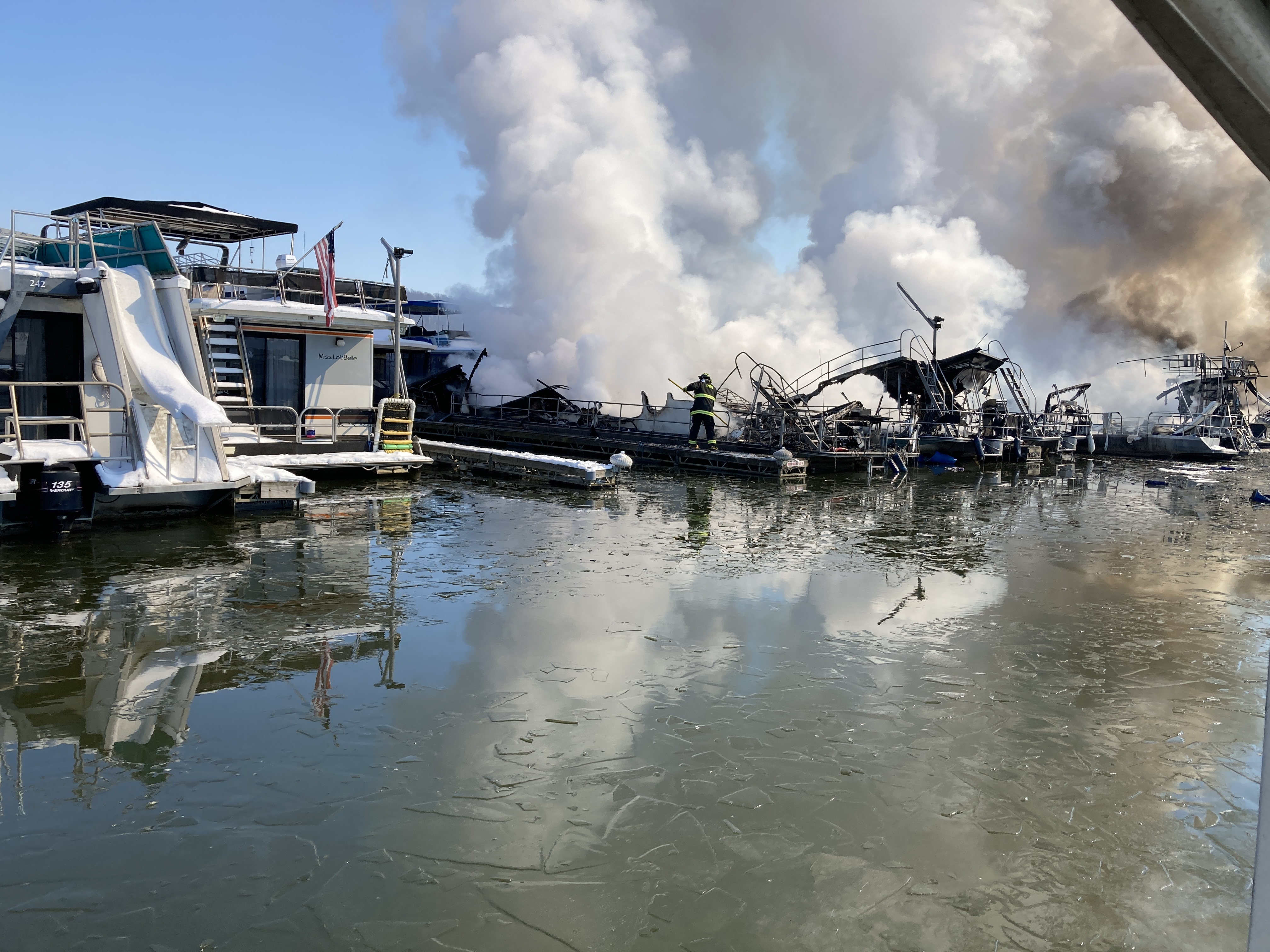 We're Learning More About Friday's Marina Fire, We Still Don't Know the Cause