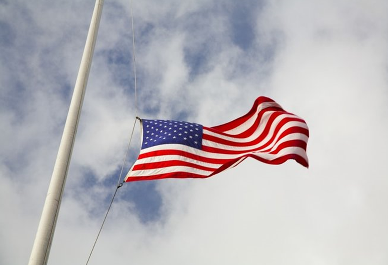 Gov. Holcomb Orders Flags in Indiana Be Lowered to Half Staff to Honor Capitol Police Officers Killed in Riot