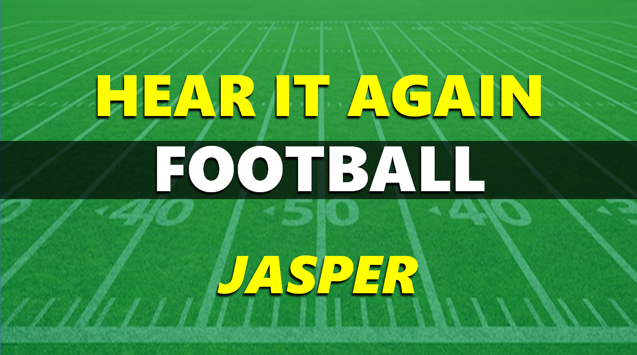 Hear It Again: Jasper Football vs Bosse 9/10/21
