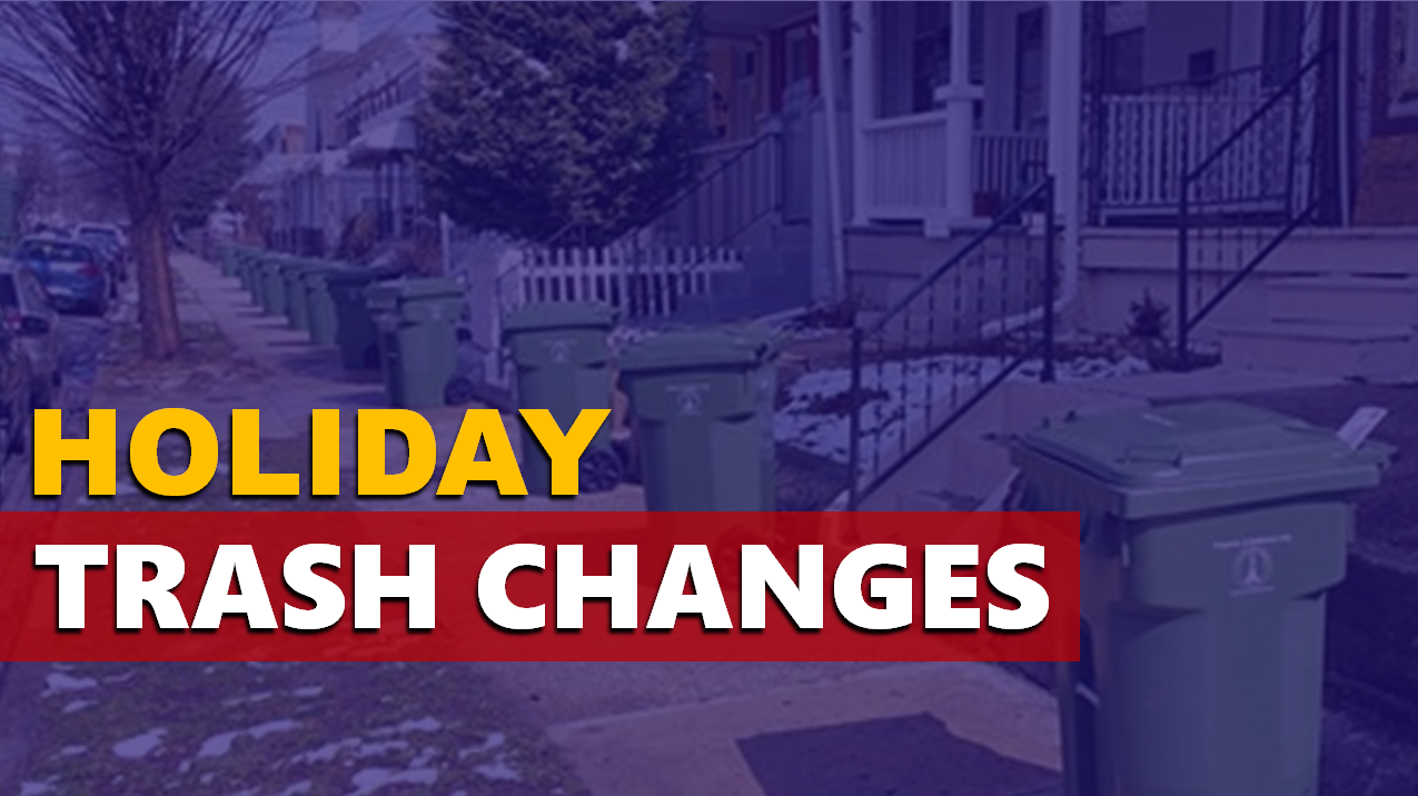 City Offices Closed Today For MLK Day; Changes to Trash Schedule in Jasper and Ferdinand