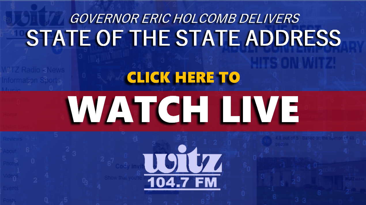 WATCH LIVE: Indiana Governor Eric Holcomb to Deliver State of the State Address at 7 P.M.