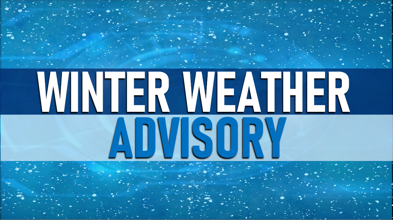 ALERT:  Winter Weather Advisory in Effect For Dubois County This Afternoon into Tonight