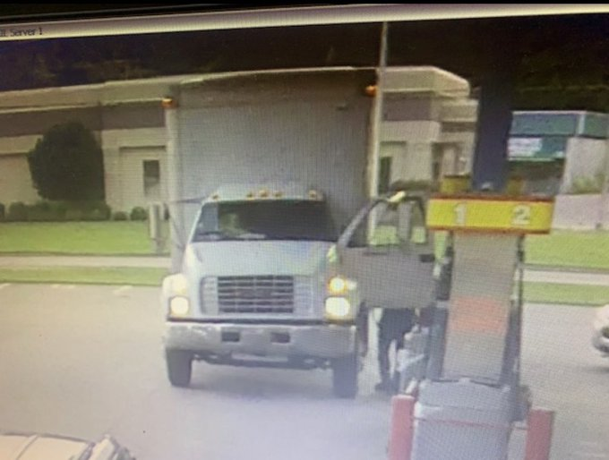 Jasper Police Department Asking for Public's Help in Identifying Box Truck, Driver