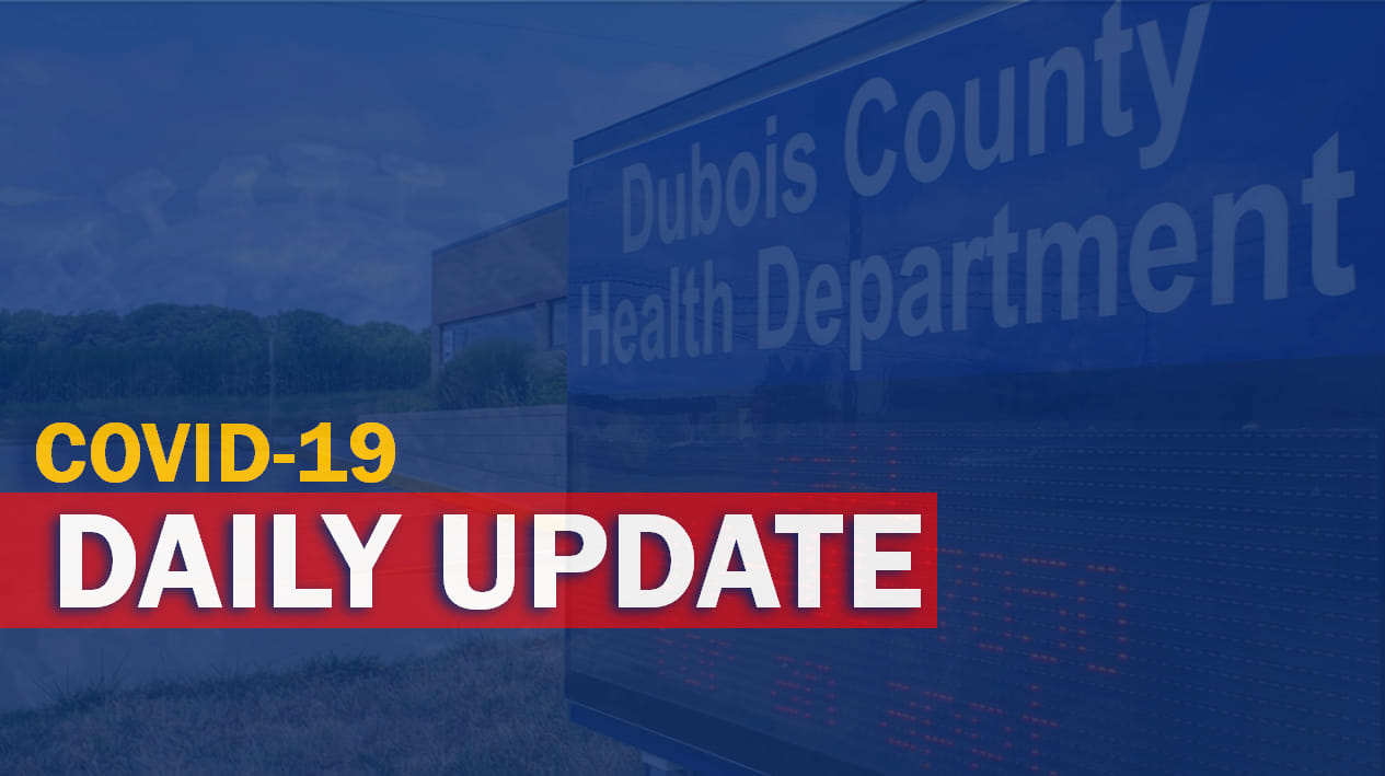 Dubois County Records Two COVID Cases in Update for Second Straight Day