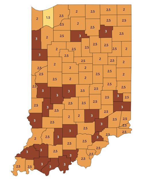 Dubois Posts Back-to-Back Days of Over 40 Cases; Indiana Records 4,773