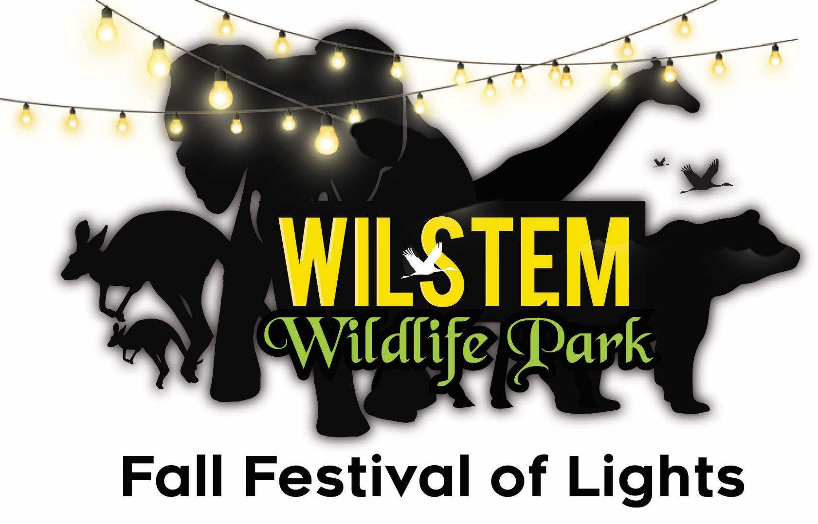Wilstem Wildlife Park Announces the Return of the Fall Festival of Lights