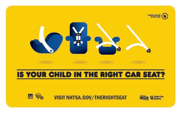 Child Passenger Safety Week Urges Use of Safety Seats, Car Seat Checks